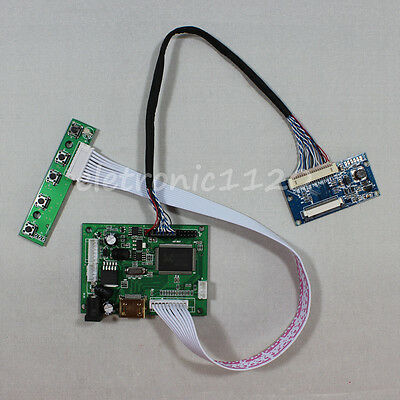 HDMI input LCD driver board Kit for 8inch EJ080NA-04C 1024x768 LCD panel