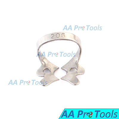 AA Pro: Endodontic Rubber Dam Clamp # 206 Surgical Dental Instruments