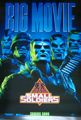 Small Soldiers (1998) Original D/S One Sheet Movie Poster,  Kirsten Dunst