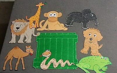 Felt Board Story Teacher Resource - Extra Large Dear Zoo Characters