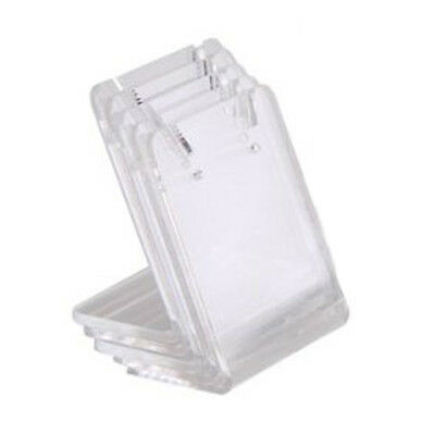 10x display espositore porta orecchini plastica 43 x 35 mm HK