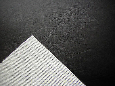 Black Heavy Duty Upholstery Faux Leather/ Vinyl/fabric/leatherette/material