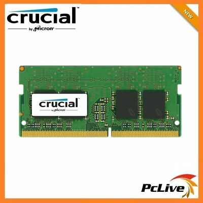 NEW Crucial 8GB DDR4 2400Mhz Memory SODIMM 1.2V RAM for Laptop PC4 19200 CL17