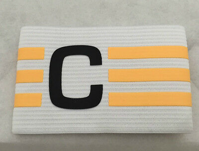 Adidas Football Captains Armband White/solar Gold  Brand New In Pack