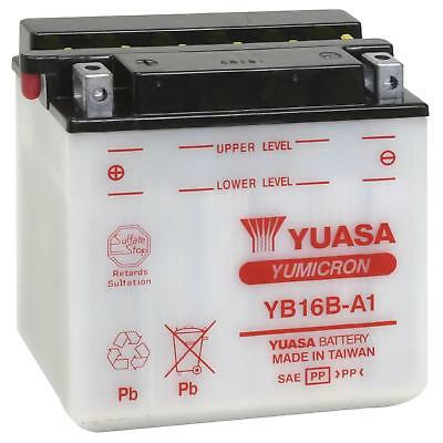 Genuine Yuasa YB16B-A1 Motorbike Motorcycle 12V Battery