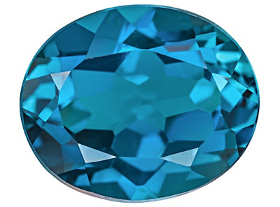 Synthetic Spinel Lab Created London Blue Zircon AAA Oval Loose stone (6x4-18x13)
