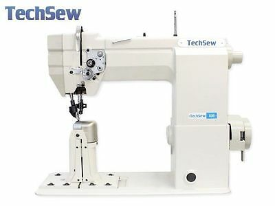 TechSew 830 Post Bed Roller Feed Leather Industrial Sewing Machine