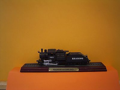 Atlas Editions Locomotive - READING RR 0-6-0 CAMELBACK - 1:100 Scale Model Train