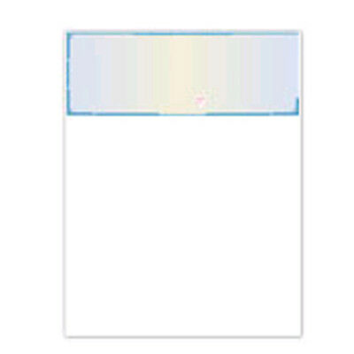 5000 Blank Check Paper Blue