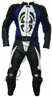 """SCARAB"" neXus 2-piece Leather Biker Motorcycle Suit - All sizes!"