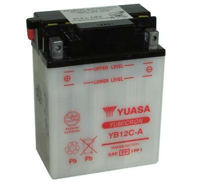 Genuine Yuasa YB12C-A Motorbike Motorcycle 12V Battery