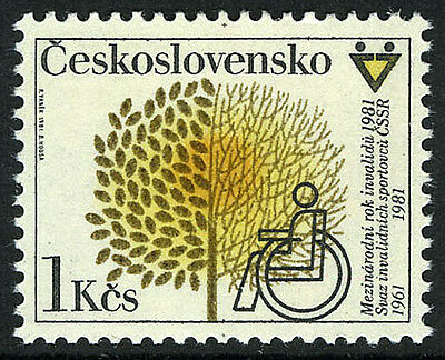 Czechoslovakia 2342, MNH. International Year of the Disabled, 1981