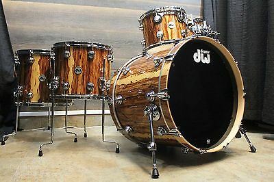 DW Collector's Series Exotic African Chenchen 5-piece Drumset  - NAMM Demo!