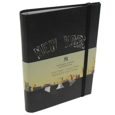 New York Yankees Hidden Spiral  A5 Notebook Licensed Product New
