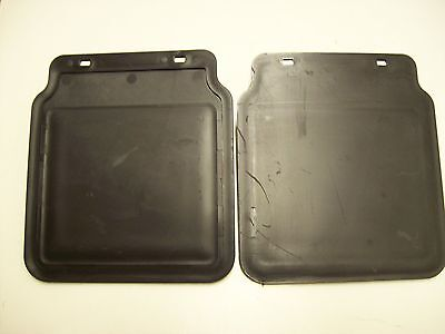 One pair of Rain mud flaps for 10 to 13 inch trailer mudguards Free P & P