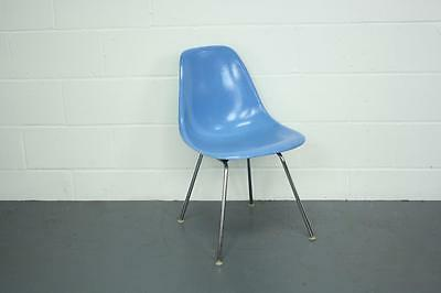 EAMES DSX CHAIR HERMAN MILLER H BASE 50s 60s TURQUOISE DSW