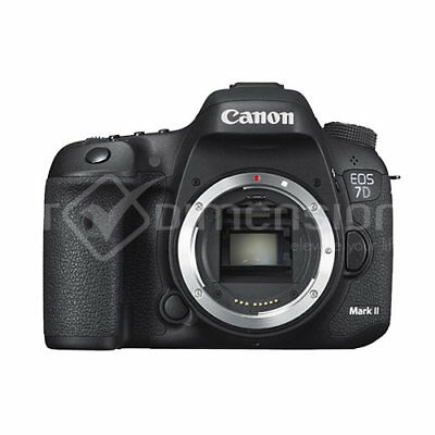 Canon EOS 7D Mark II Digital SLR Camera Mk2 Multi Language  Authenti