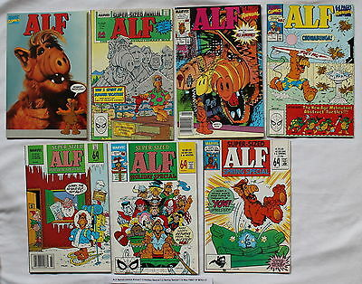 ALF Marvel comics Annual 1-3 Holiday Special 1,2 Spring 1 TPB V.1 X-Men TMNT VF