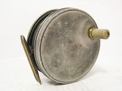 "Vintage Antique Alloy Farlow Perfect Pattern 3 ½"" Fly Fishing Reel"