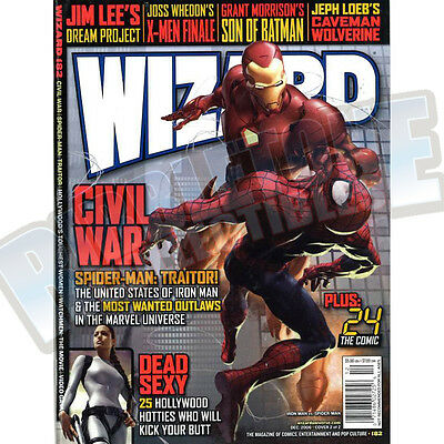 Wizard The Comic Magazine #182 Cover B Vf