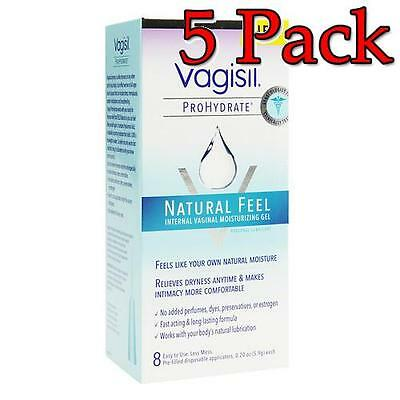 Vagisil ProHydrate NaturalFeel Vaginal Moisturizer, 8ct, 5 Pack 011509060501A959