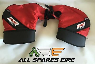 Logic Insulated High Quality ATV Quad Hand Handlebar Muffs Mitts Covers Guards