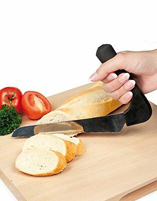Vitility | Kitchen Knife w/ Angled Non-Slip Handle, Stainless Steel