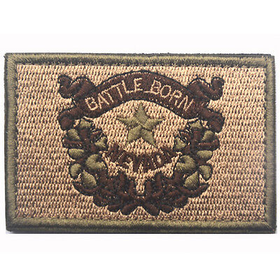 USA Utah UT STATE FLAG U.S ARMY 3D EMBROIDERED MORALE TACTICAL PATCH