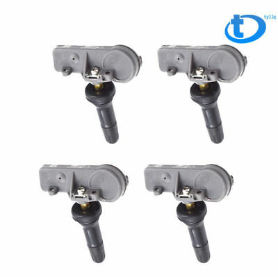 Set of 4 NewTPMS Tire Pressure Monitoring Sensors for Chevy GMC GM OEM 13581558