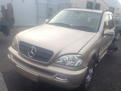 2002 Model Mercedes ML-320 Wagon wrecking for parts.