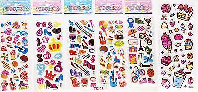 Music Teaching Children 3D Stereoscopic Toy Stickers-kid party 6pcs / lot gift