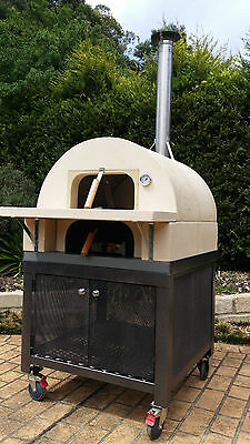 Pizza and outdoor oven