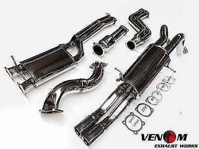 Venom FG Turbo Ute Turbo-Back Exhaust - Falcon XR6 FPV F6 FORCE6 BARRA