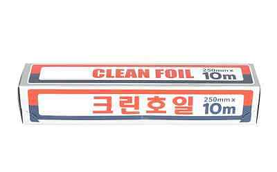 CLEAN FOIL Aluminum Foil 250mm x 10M Cooking Roll Paper Kitchen Made in Korea