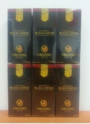 Great Deal ! 6 Box Organo Gold Gourmet Black Coffee ( 30 Sacs ) Expedited Ship