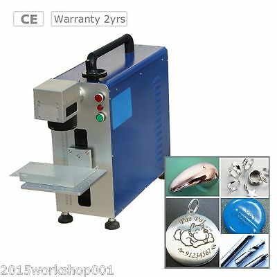 High Quality 10W Fiber Laser Marking Machine for Metal and Non-metal Material