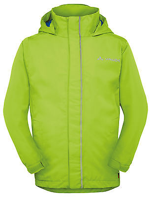 Vaude Kinder Regenjacke, Regen Jacke, Kids Escape Light II  grün  Gr: 158 / 164