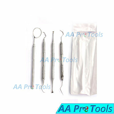 Dental Tooth Scraper Calculus  Remover Basic Examination Set with Protective