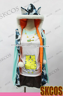Super Sonico Cosplay Necklace Pendant Guitar Accessories Props Gift Girl Daily