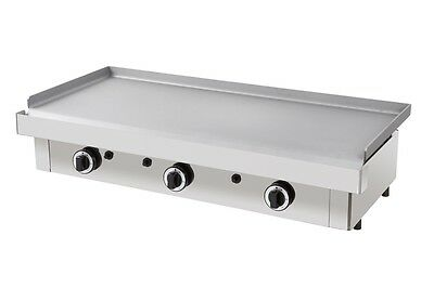 """New Gas Griddle 40"""" Italian griddle hot plate Parry Lincat style from INFERNUS"""