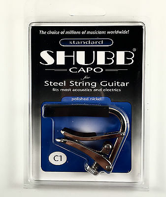 [Good Deal] Shubb C1 Standard Capo Acoustic Electric Guitar-Genuine Brand New