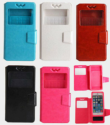 Universal Case Pu Leather Cover + Free Gifts