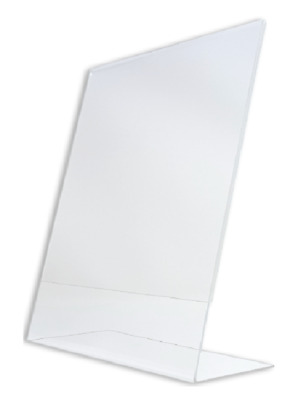 4 x 6 Vertical acrylic picture frame display / sign holder wholesale