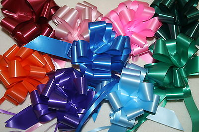 30 instant pull bows - 31 mm weddings or gift wrapping 31mm colour choice!