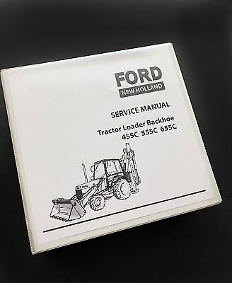 ford 455c 555c 655c tractor loader backhoe service manual repair ford 455c 555c 655c tractor loader backhoe service repair manual