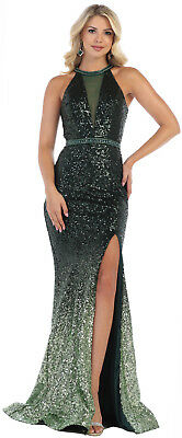 ! Sale ! Maid Of Honor Dress Stretch Formal Evening Engagement Gowns & Plus Size