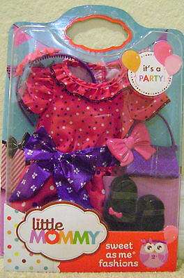 Little Mommy Sweet As Me Fashion Clothes - It's A Party Outfit W/ Accessories