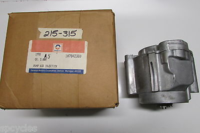 Genuine ACDelco GM 7842360 Secondary Air Injector Pump 215-315         ** OEM **