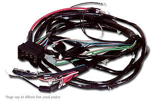 1970 1971 chevy nova engine and front light wiring harness kit hei