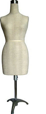 MN-182 Mini Half Scale Professional Pinnable Dress Form (great for students!)